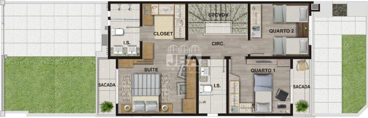 Residencial Bari - Planta da unidade 12617.004