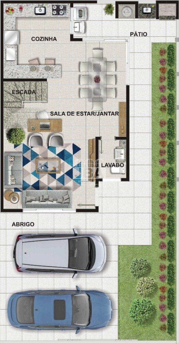 Residencial Bari - Planta da unidade 12617.006
